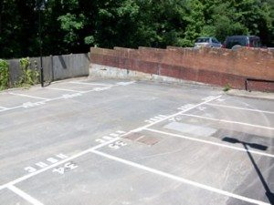 Car Parking Spaces with Numbers