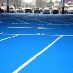 Full Colour Car Park Markings