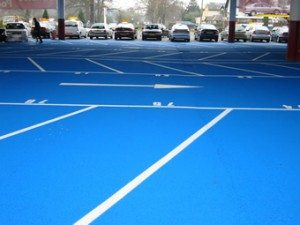 Full Colour Car Park Markings