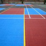 Multi Game Sports Court Marking