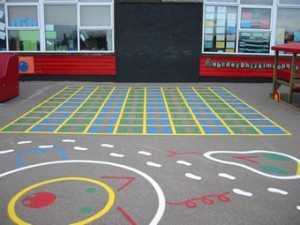 Playground Markings Numbers