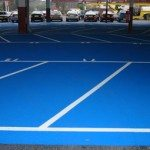 Supermarket Car Park Markings