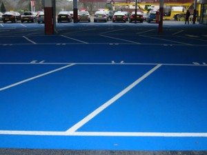 Supermarket Car Park Markings