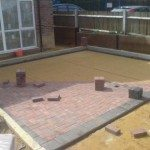 Block Paving Patio Construction