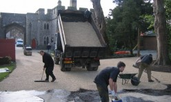 Arundel Castle - Resin Bound Paving
