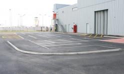 Car park construction - Virgin Atlantic