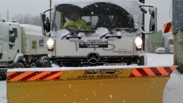 Snow Plough Hire