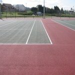 Double Tennis Court Markings