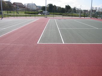 Tennis Court Marking