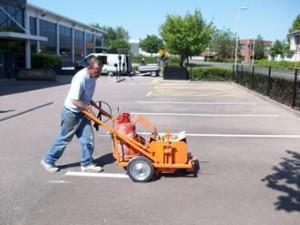 Road marking and specialist surfacing