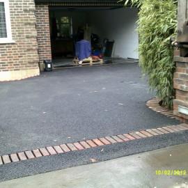 Tarmac driveway, Walton On Thames, Surrey