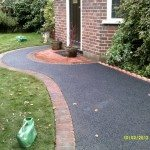 Finished tarmac surface