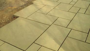 Yorkstone patios