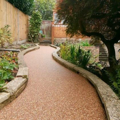Resin bound Footpaths