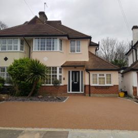 Spring Taupe Resin Bound Driveway in Twickenham, Middlesex