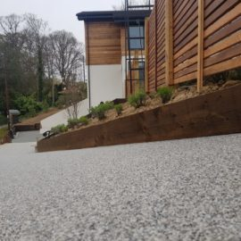Resin Bound Driveway in Claygate, Surrey