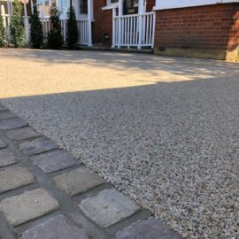 Resin Bound Driveway in Wimbledon, Surrey