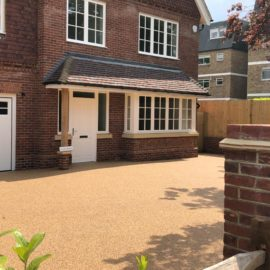 Resin Bound Driveway in Weybridge, Surrey