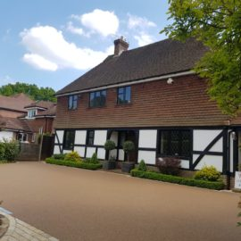 Resin Bound Driveway in Godalming, Surrey