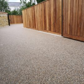 Resin Bound Driveway in Richmond, Surrey