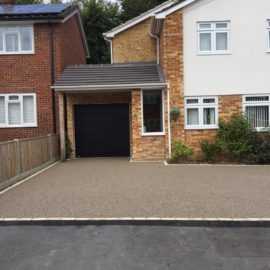 Resin Bound Driveway in Windlesham, Surrey