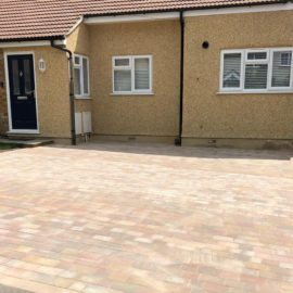 Block Paved Driveway in Epsom, Surrey