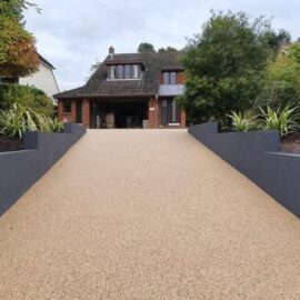 Resin Bound driveway in East Horsley, Surrey