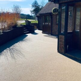 Resin Driveway in Bookham, Surrey