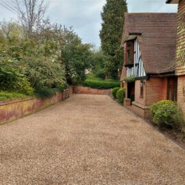 Tar and Shingle Driveway in Guildford, Surrey