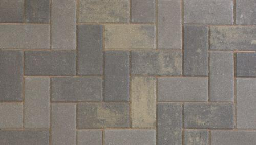 Driveline 50 block paving pewter multi