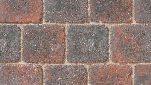 Drivesett Deco block paving Cinder